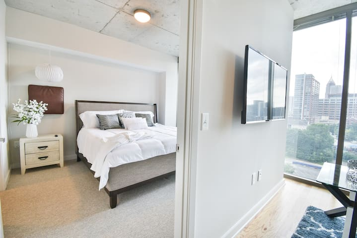 ❋Business District | King Bed | Rooftop | Gym