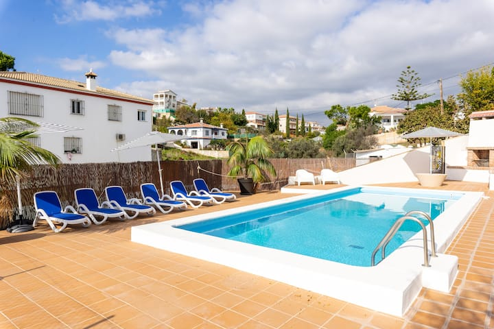 "Holiday Home ""Casa Mango"" with Shared Patio, Shared Pool, Air Conditioning & WiFi; Parking Available"