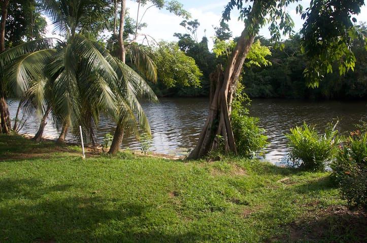 Bocatura Cabin 3,  Sittee River, Hopkins, Belize - Hopkins