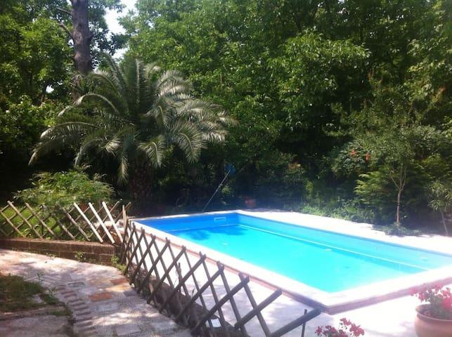 Dependance in villa con piscina - San Felice a Cancello - Villa
