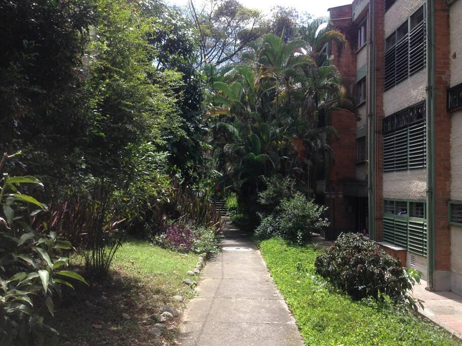 Acceso al apartamento / Apartment access