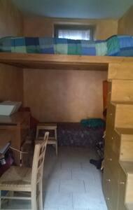 Double room with mezzanine/stanza doppia - Malgrate