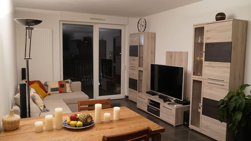 Chambre dans appartement Neudorf et proche centre