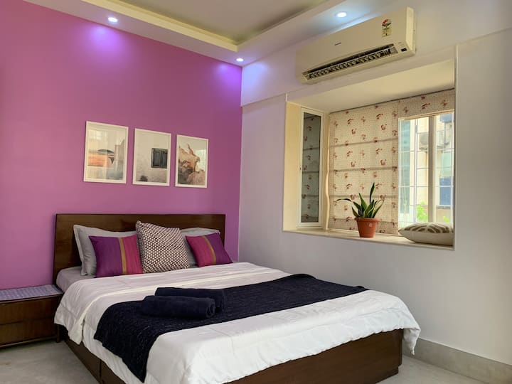 ✪ Holiday Home in Bandra ✪Nr Ocean & Park✪ Room 1