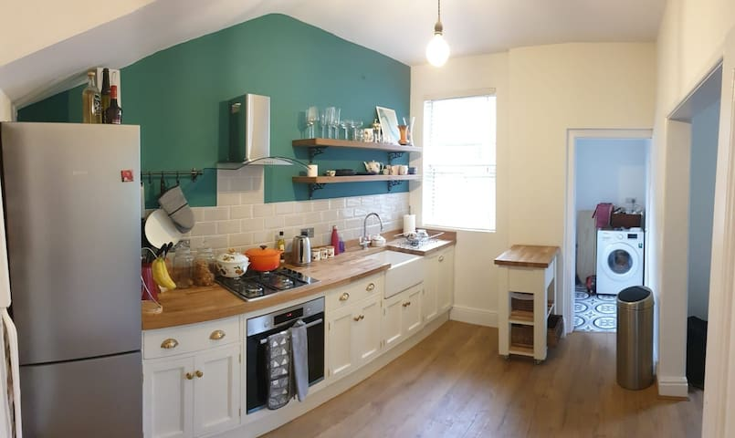 Quirky house near Sefton Park - up to 4 people