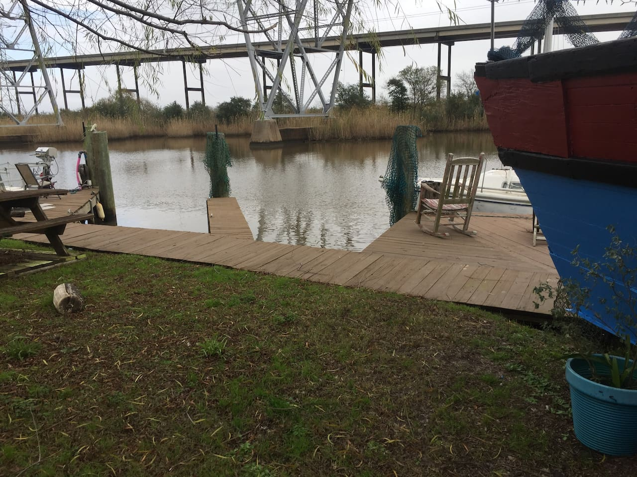 on the Neches River