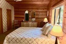 Master Suite with king bed & attached bath