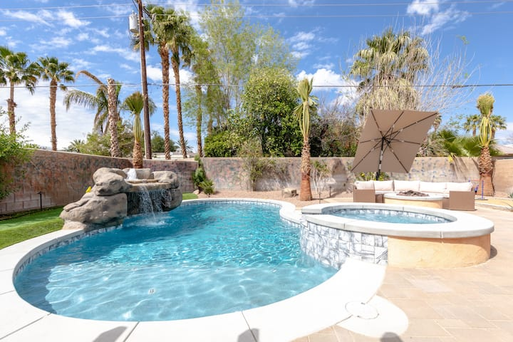 ♥Paradise Desert Resort by the Palm Springs Lights