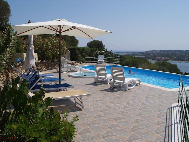 Suite Panorama2 con piscina in Costa Smeralda - Olbia - Apartamento