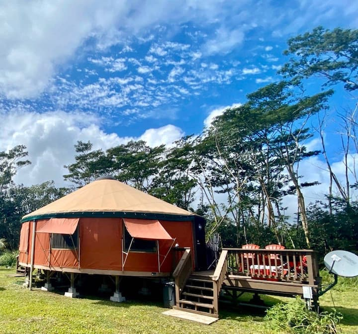 The Peaceful Yurt Experience