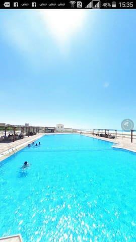 Chalet with roof Reem elfala resort k80
