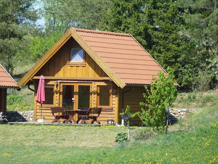 Wooden Cottage in Valley