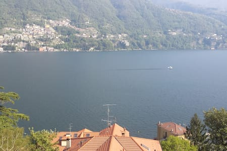 Beautiful sunny Lake Maggiore Flat - Angera - Condomínio