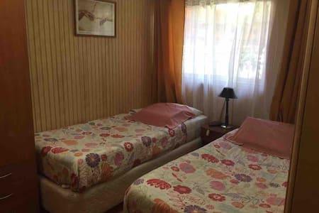 Acogedora habitacion, baño privado, rico desayuno!