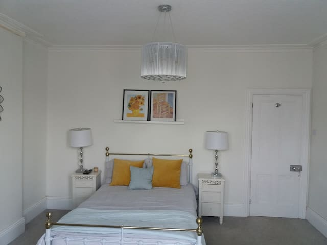 Renovated Victorian character Master Bedroom