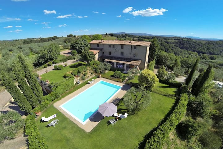 Rural Tuscany | House with private pool & garden