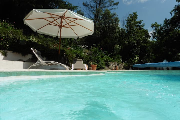 Maison des voyageurs. Appart standing, piscine