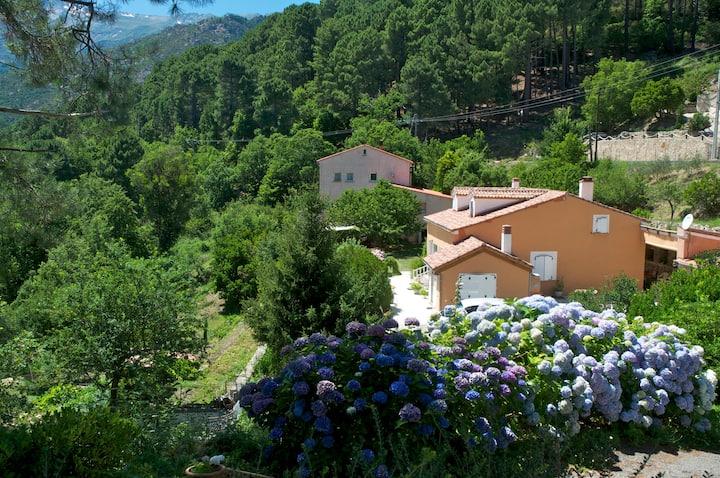 Gîte Chez Mathilde I entouré de montagnes