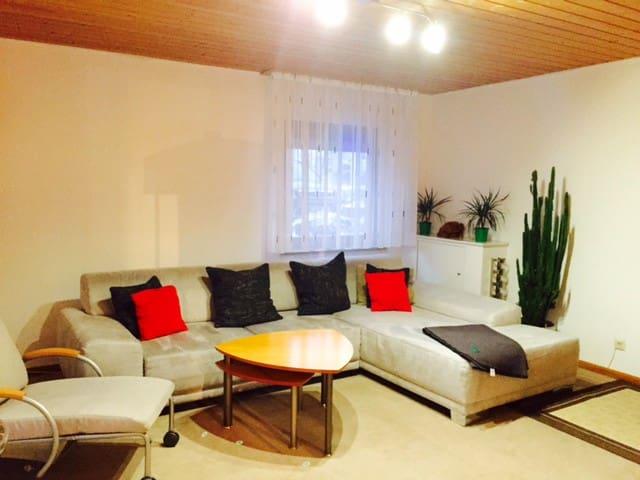 Schönes ruhiges Wohnung in REUTE mit KÜCHE - Reute - Apartamento