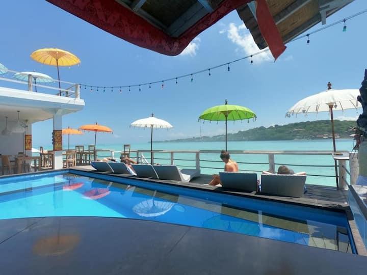 Nusa Lembongan OCean 8 adult Private Beachfront