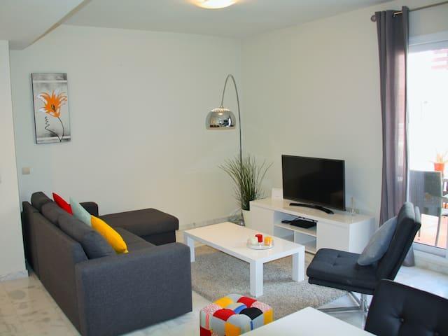 TV area Living room