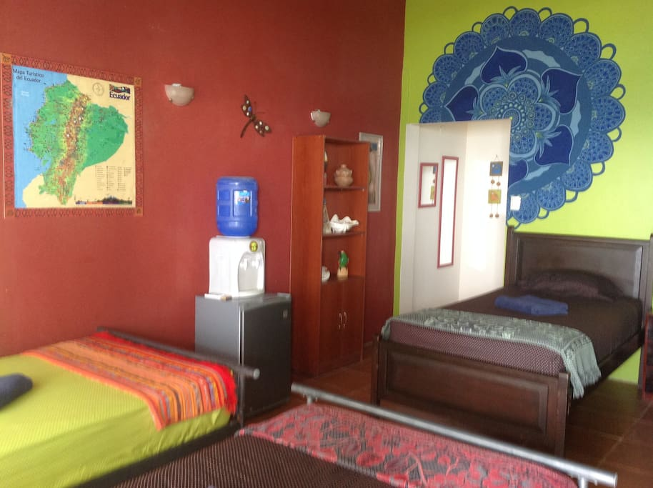 This is our most colorful room.  Great for small groups