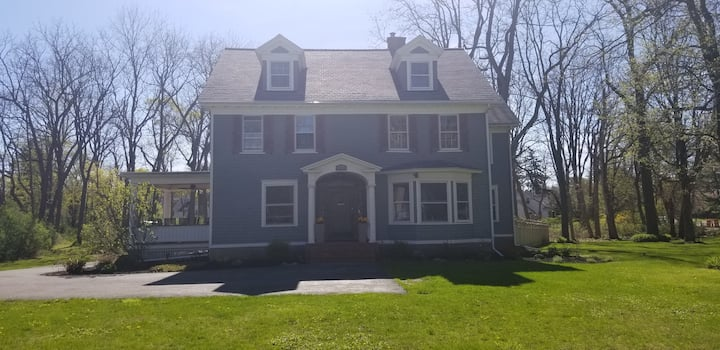 Historic Home on 2.5 acres, Great Central Location
