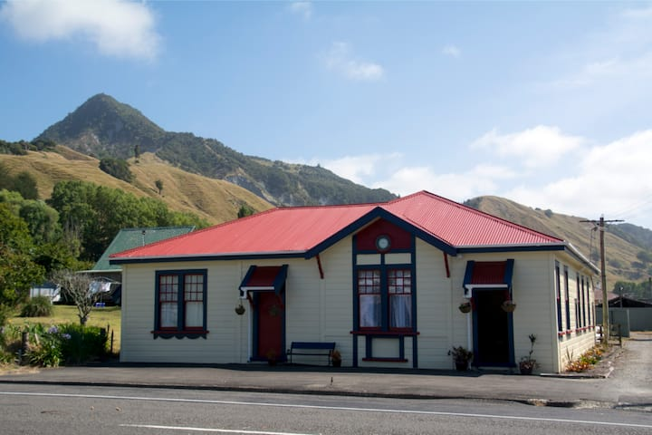 Historic Places Trust in coastal Maori village