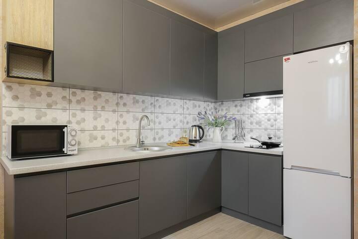 Класические апартаменты с евроремонтом. Новый дом