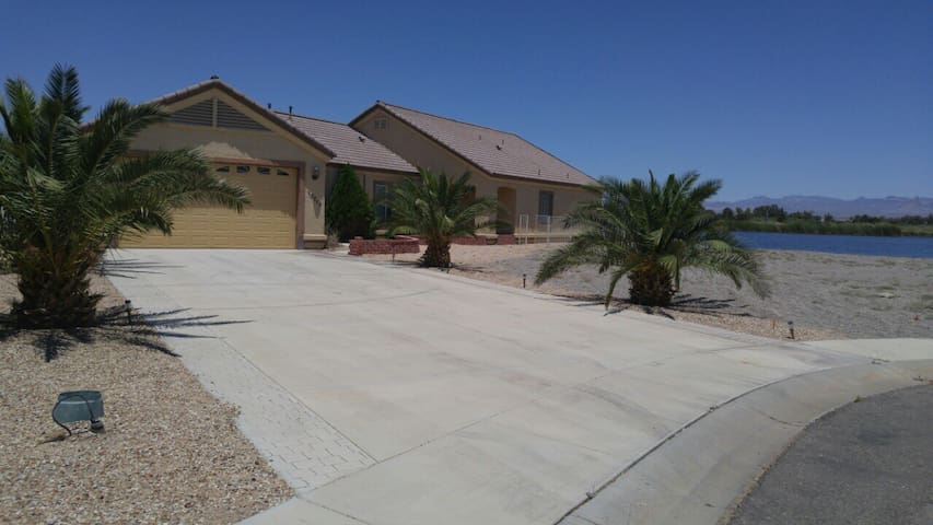 House on private lake - Mohave Valley - Talo