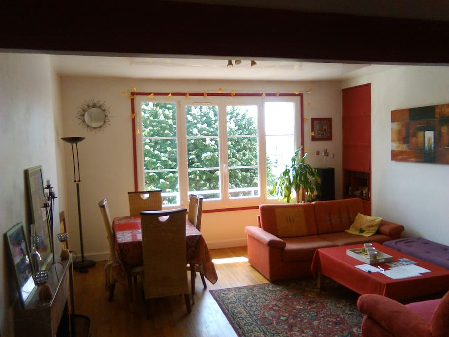 Appart plein centre avec chemin e flats for rent in caen lower normandy france - Cheminees philippe review ...