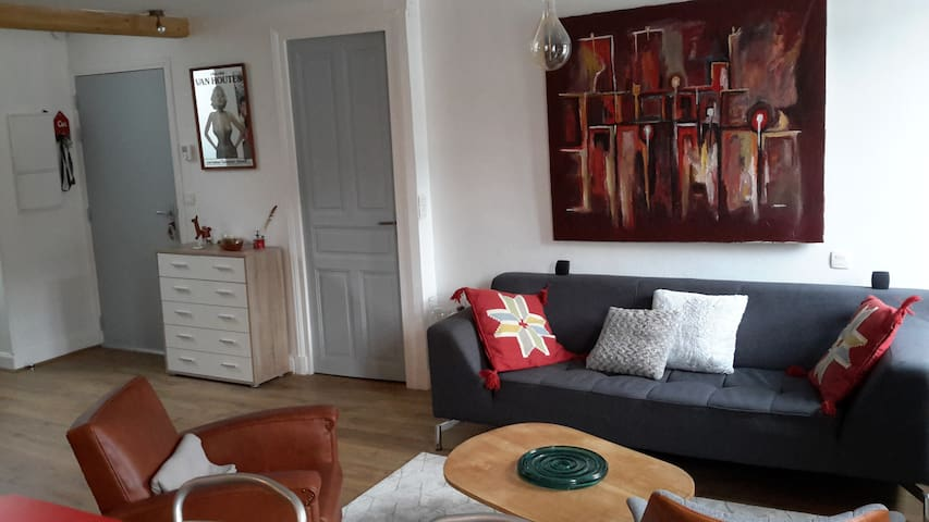 Nice and confortable room in the center town - Mauléon-Licharre - Appartement