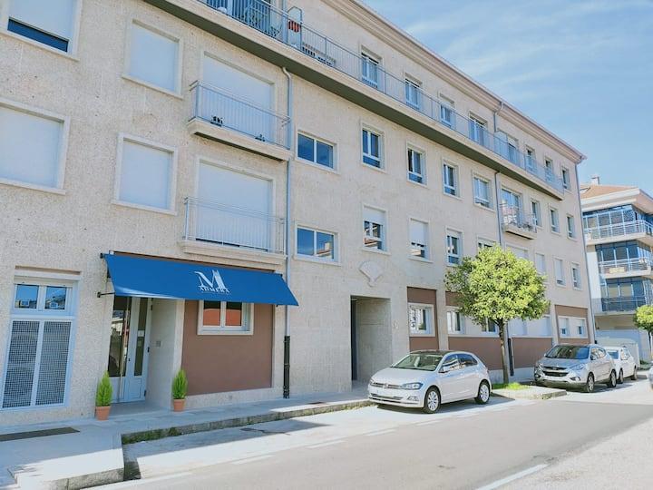 Habitación en pensión boutique cerca del clínico