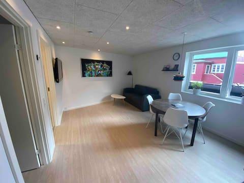 Nyrenoveret lejlighed i centrum af Thorshavn