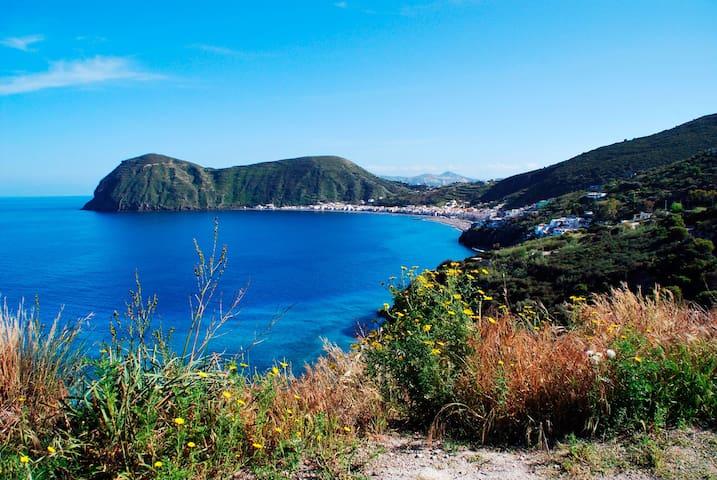 Vulkane und Meer, Lipari, Äolische Inseln - Canneto - Domek gościnny