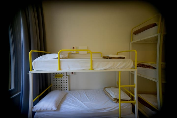 Bed in 6 female dorm @ Ostello Bello Lake Como