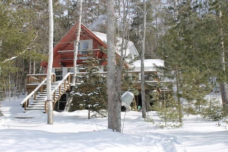 Cottage with lots of privacy - Madawaska Valley - Kabin