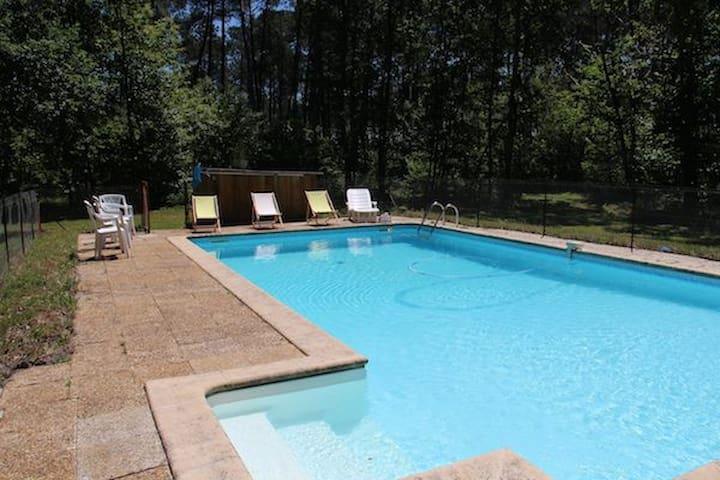 Villa  10 pers,  piscine privée, calme - Sainte-Hélène - Villa