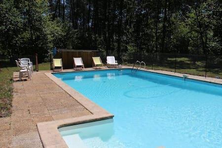 Villa  10 pers,  piscine privée, calme - Sainte-Hélène