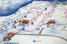 Impianti sciistici sciovie Eremo Monte Carpegna.