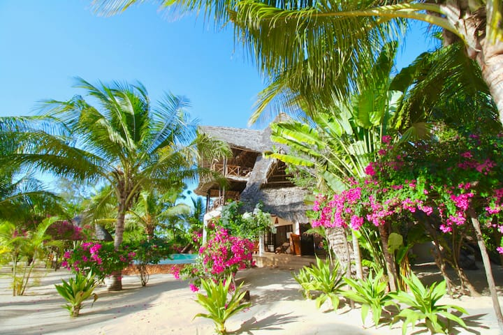 Fantastic Villa on the beach for 8