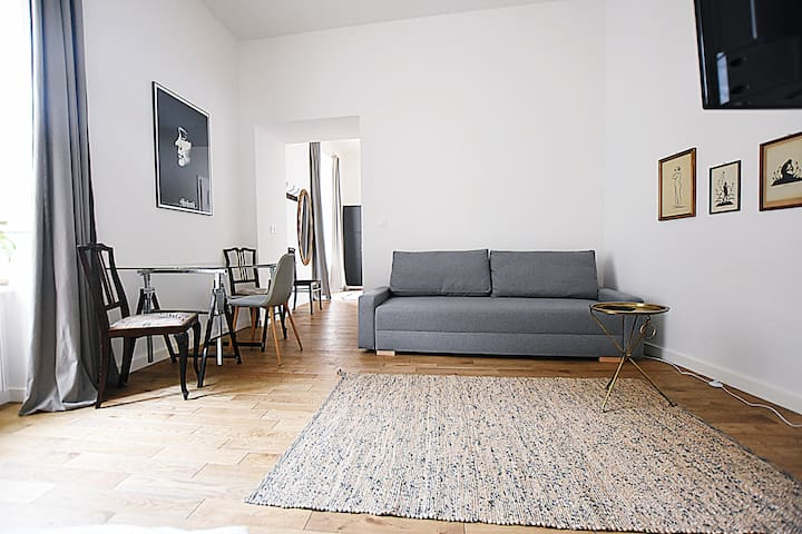 Charming apartment in Kraków's trendiest area