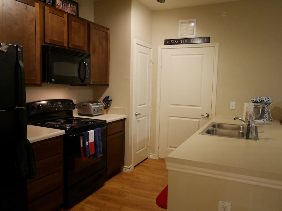 Here's another angle of our kitchen!
