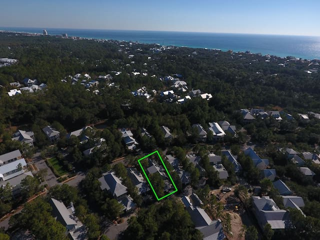 30A WaterColor Aerial View of 1361