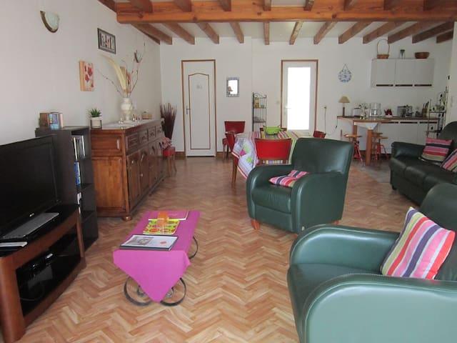 La petite maison (location à la semaine) - Étaules - Huis