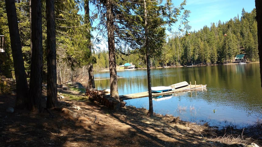 Fabulous Black Lake cabin