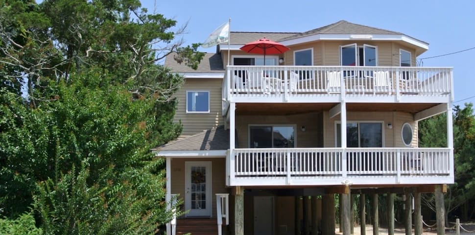 LBI beach-block home with 2 master suites! - Barnegat Light - Casa