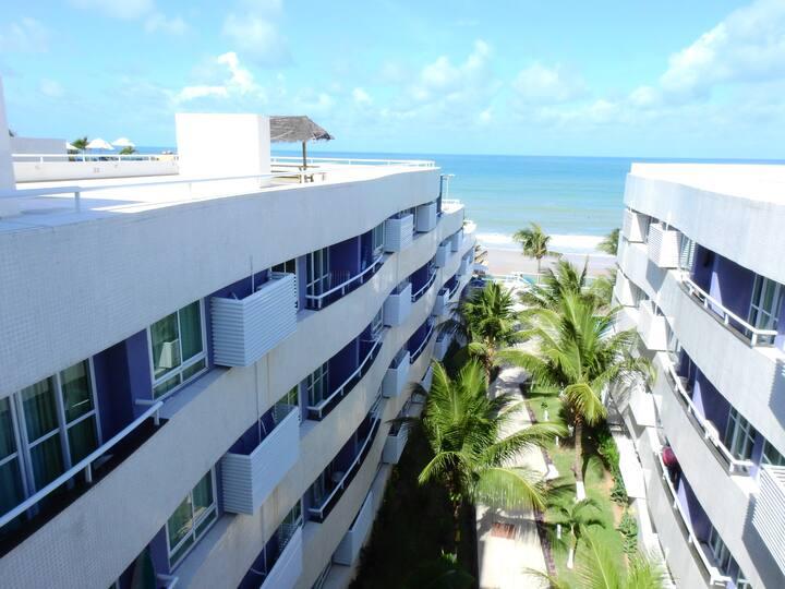 Flat 209 - Beira-Mar no Hotel Ponta Negra Beach