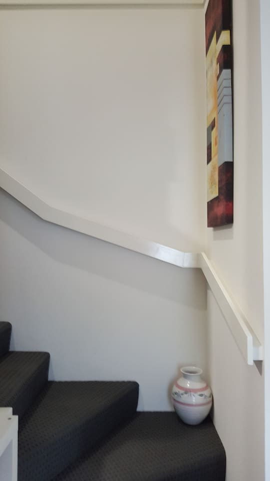 Stairway  up to the bedrooms