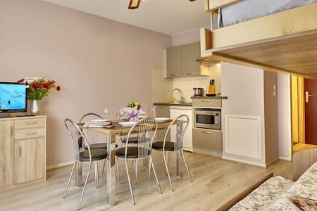 Dans cité des loisirs, Appartement 5 pers. 35 m2